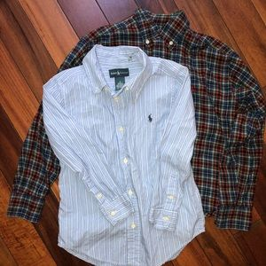 Ralph Lauren Shirts & Tops - 2 Ralph Lauren Boys Button Down
